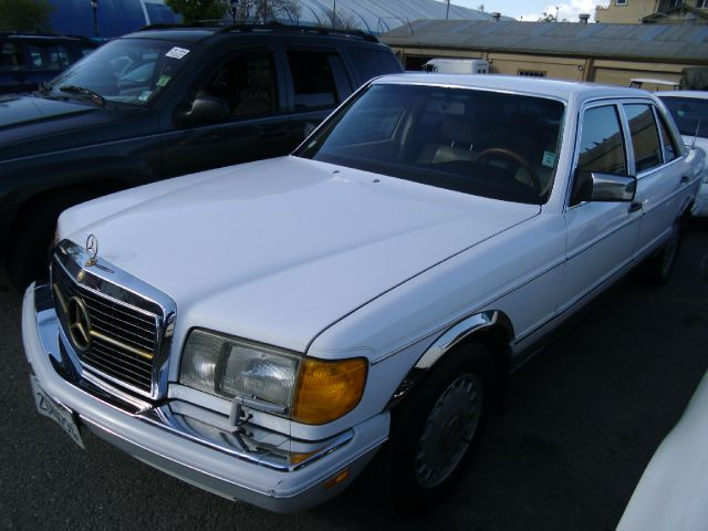 1991 MERCEDES-BENZ 420 SEL SEDAN white abs brakesair conditioningalloy wheelsanti-brake system