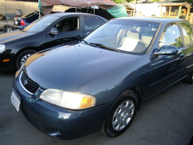 2001 NISSAN SENTRA GXE blue air conditioningamfm radioanti-brake system non-abs  4-wheel abs