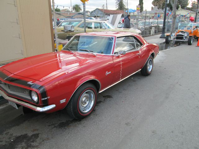 1968 CHEVY CAMARO red matching numbers protecto plate fully documented cant find like 