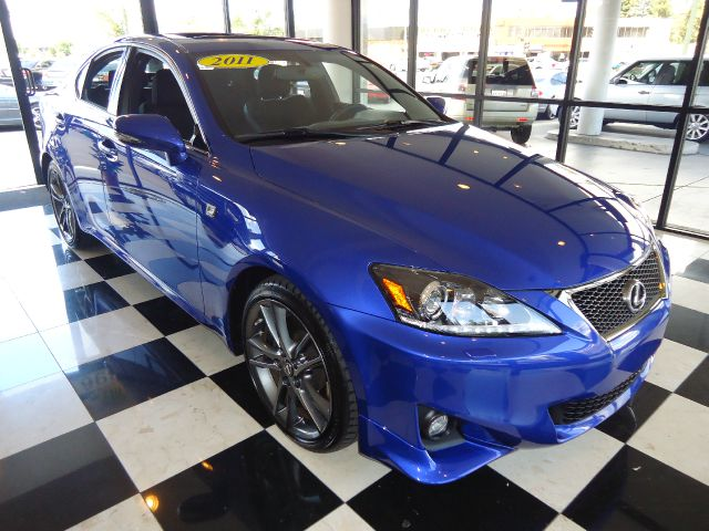 2011 LEXUS IS 350 IS 350 blue fsport  pakagesuper cleanlocal car with a full factory warranty an