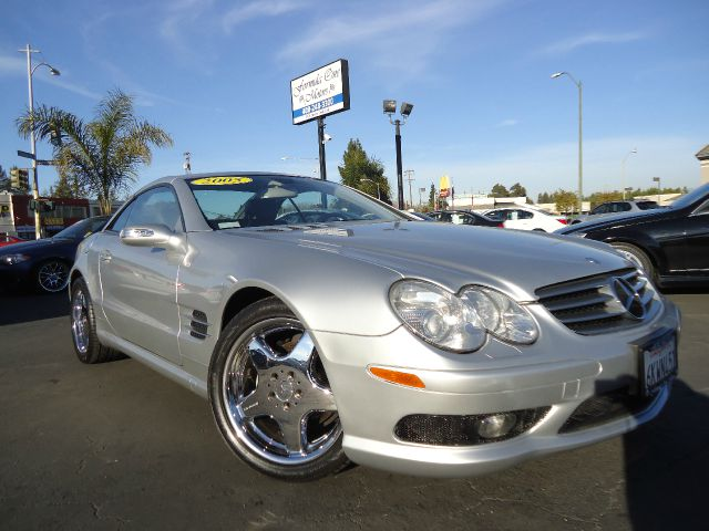 2005 MERCEDES-BENZ SL-CLASS SL500 silver clean car faxcalifornia car with navigation