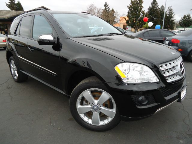 2009 MERCEDES-BENZ M-CLASS ML350 4MATIC black clean car faxone ownercalifornia ca