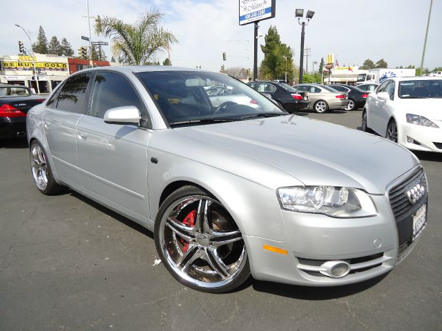 2007 AUDI A4 20 T WITH MULTITRONIC silver hard to find 6 speedclean car fax california carsilve