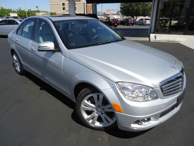 2011 MERCEDES-BENZ C-CLASS C300 SPORT SEDAN silver one owner low milescovered by factory warranty
