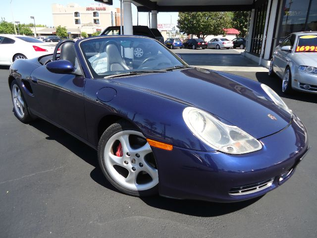 2002 PORSCHE BOXSTER S blue 80255 miles VIN WPOCB29842U663630 
