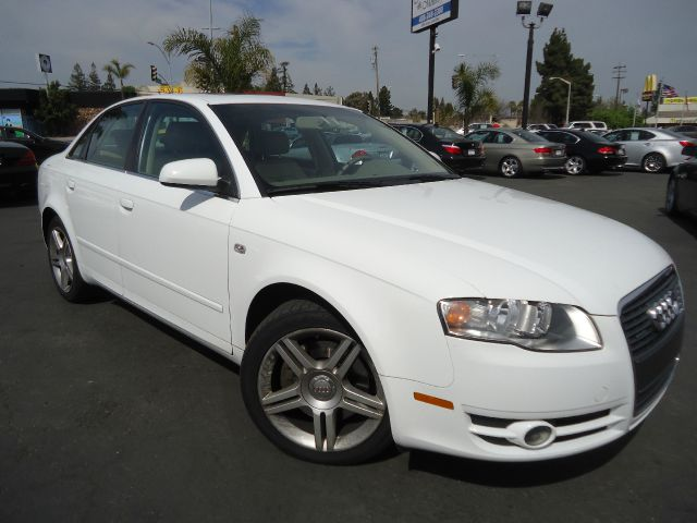 2007 AUDI A4 20 T QUATTRO WITH TIPTRONIC wht one owner california car clean car faxwhite with a
