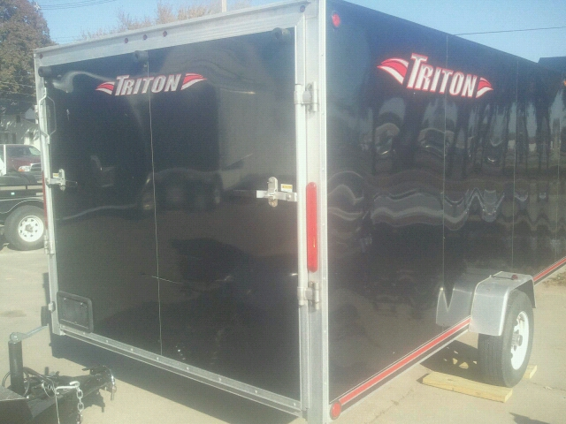 2010 USED Triton CARGO Snowmobile