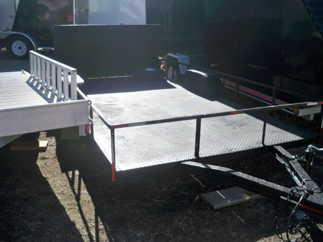 "2010 USED Homeade 60""x12'-steel deck"