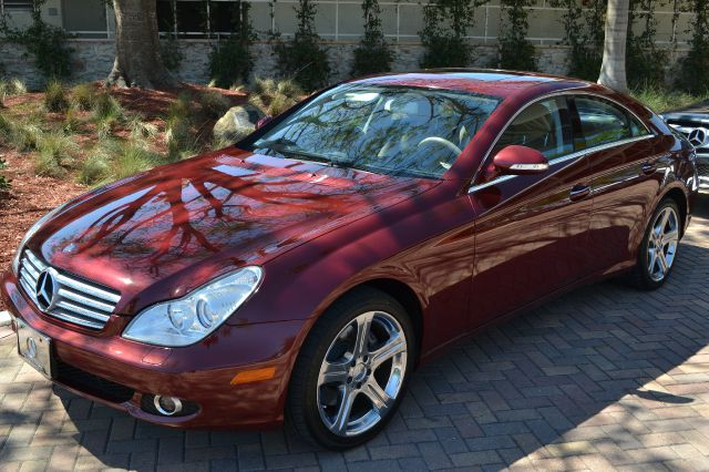 2006 MERCEDES-BENZ CLS-CLASS CLS500 4-DOOR COUPE burgundy we have financing available for all your