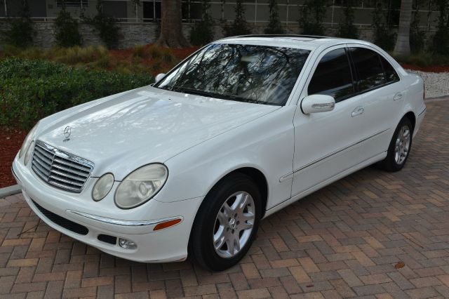 2003 MERCEDES-BENZ E-CLASS E320 white we have financing available for all yours financial needs  