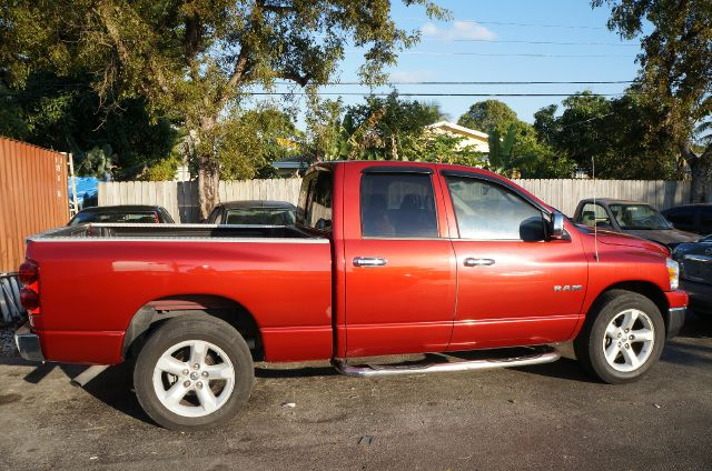 2008 DODGE RAM 1500 SLT QUAD CAB 2WD flame red this dodge ram 1500 has a great looking flame red e