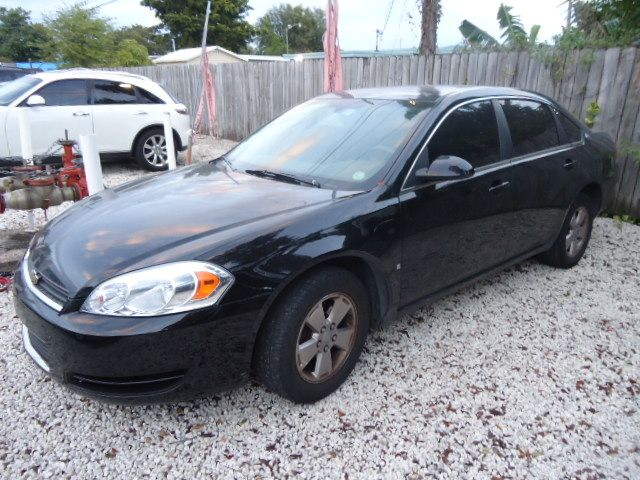 2008 CHEVROLET IMPALA LT black call now 1-866-717-9571   free autocheck  carfax report everyone