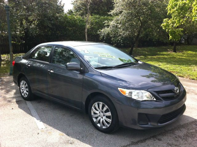 2012 TOYOTA COROLLA LE 4-SPEED AT magnetic gray metallic call now 1-866-717-9571   free autocheck