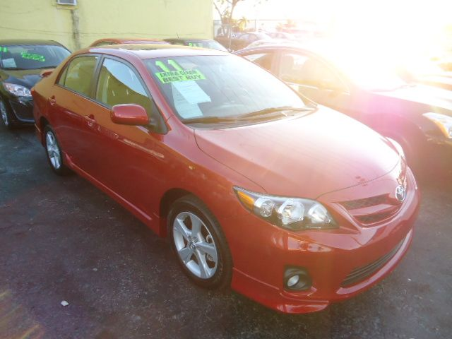 2011 TOYOTA COROLLA S 5-SPEED MT barcelona red metallic call now 1-866-717-9571   free autocheck