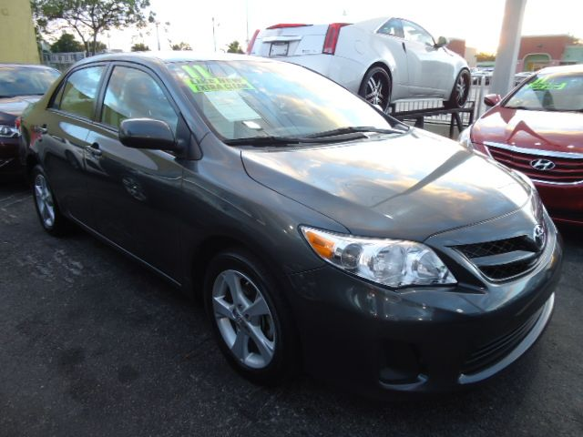 2011 TOYOTA COROLLA LE 4-SPEED AT magnetic gray m call now 1-866-717-9571   free autocheck  carf