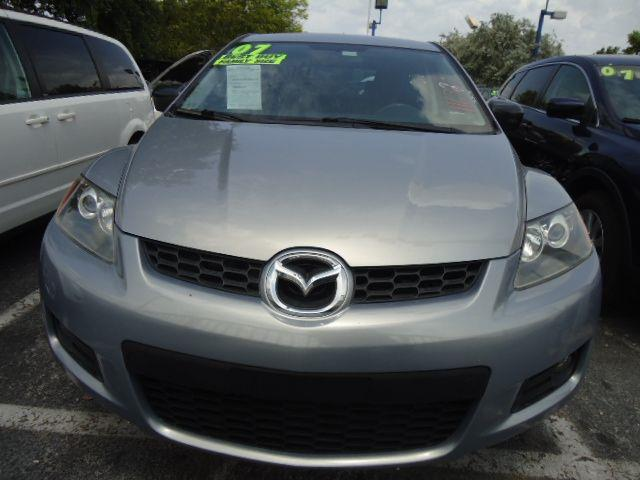 2007 MAZDA CX-7 TOURING galaxy gray everyone drives bad or no credit  serving south florida with