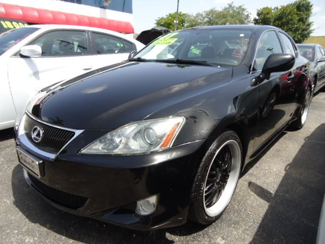 2007 LEXUS IS 250 IS 250 6-SPEED MANUAL black sapphire pearl free autocheck or carfax report ever