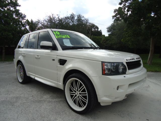 2010 LAND ROVER RANGE ROVER SPORT HSE alaska white wow must see sharp and like new this used 20