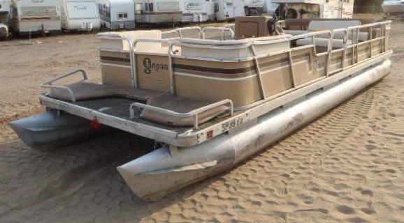 1984 Godfrey Pontoon Sand Pan 22 Foot for sale