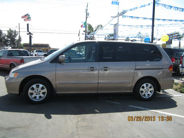 2003 HONDA ODYSSEY EX gold abs brakesair conditioningalloy wheelsamfm radioanti-brake system
