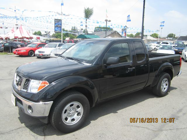 2007 NISSAN FRONTIER black abs brakesair conditioningalloy wheelsamfm radioanti-brake system