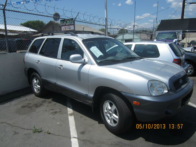 2002 HYUNDAI SANTA FE GLS silver air conditioningalloy wheelsamfm radioanti-brake system non-