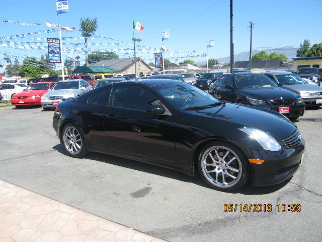 2007 INFINITI G35 COUPE black all advertised prices are cash  tax  lic  all government fees