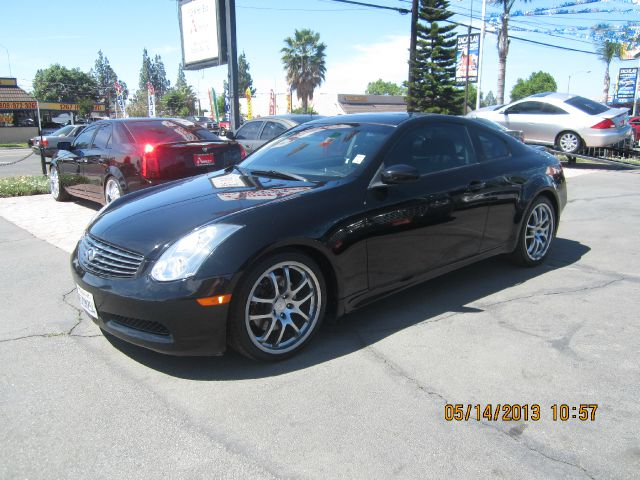 2007 INFINITI G35 COUPE black abs brakesair conditioningalloy wheelsamfm radioanti-brake syst