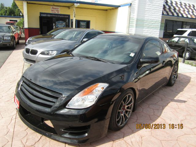 2008 NISSAN ALTIMA 25 S COUPE black abs brakesair conditioningamfm radioanti-brake system 4-