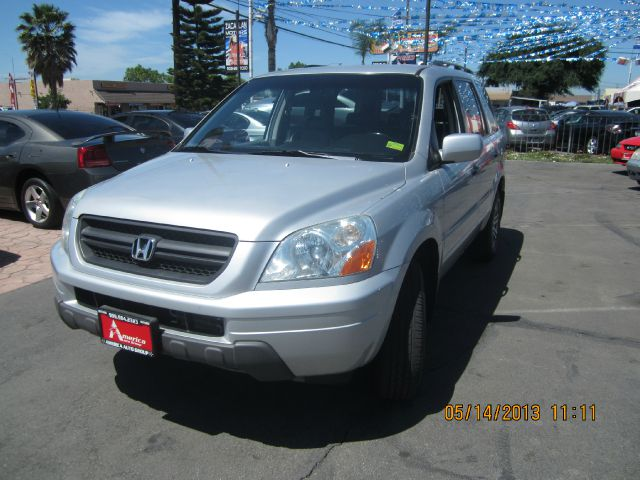 2003 HONDA PILOT EX W LEATHER silver 4wdawdabs brakesair conditioningalloy wheelsamfm radio