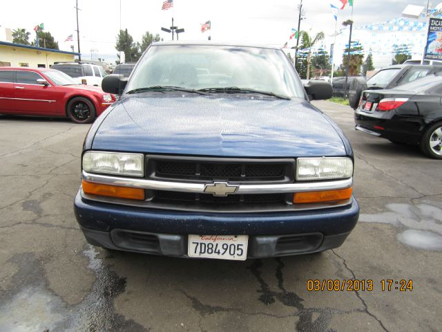 2003 CHEVROLET S10 EXT CAB 2WD blue abs brakesair conditioningamfm radioanti-brake system 4-