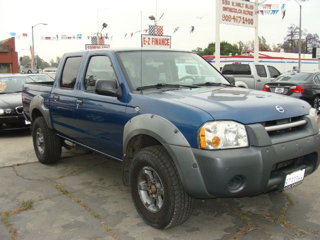 2003 NISSAN FRONTIER XE-V6 CREW CAB 2WD blue clear title abs brakesair conditioningalloy wheels