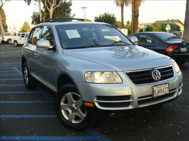 2004 VOLKSWAGEN TOUAREG V6 metallic blue sport package hill descent control anti-slip regulation