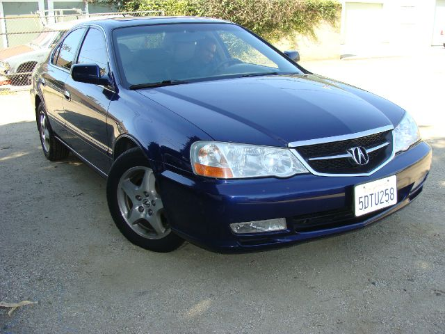 2003 ACURA TL 32TL WITH NAVIGATION SYSTEM blue clean title and carfax reports  speed-sensitive