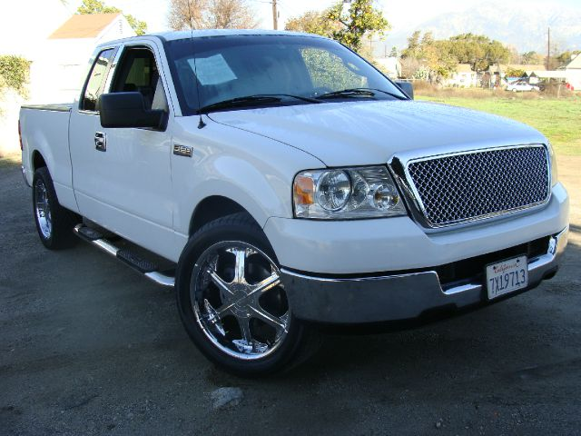 2005 FORD F150 XL SUPERCAB 2WD white clean title report recirculating ball steering 4-wheel powe