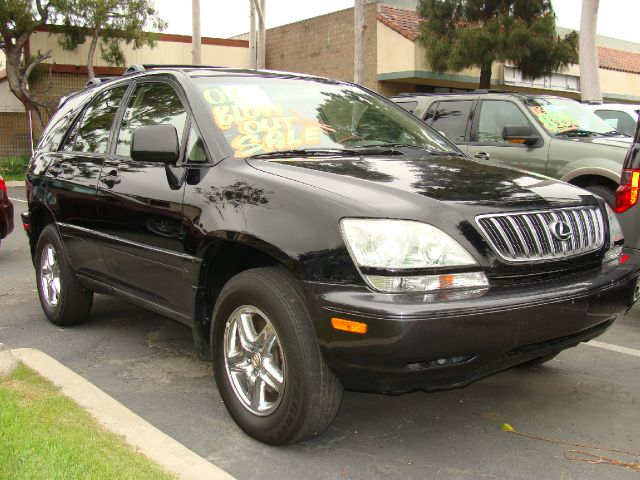2002 LEXUS RX 300 2WD black clean title report 1-ownercustomized body electronics system inst