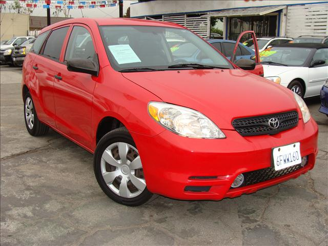 2003 TOYOTA MATRIX XR 2WD red air conditioningamfm radioanti-brake system non-abs  4-wheel ab