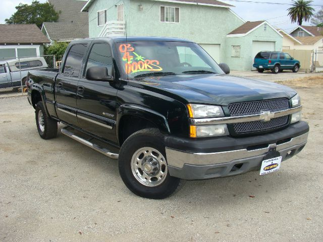 2003 CHEVROLET SILVERADO 1500 HD LS CREW CAB 2WD green mothers day special prices good until may