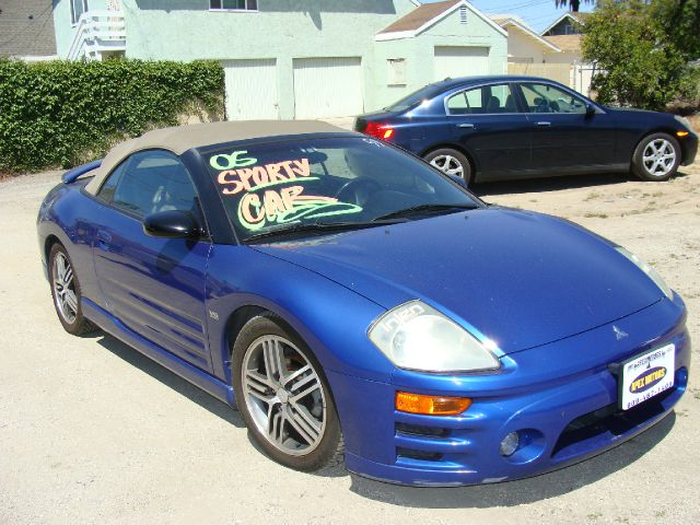 2005 MITSUBISHI ECLIPSE GTS SPYDER blue clean title abs brakesair conditioningalloy wheelsamfm