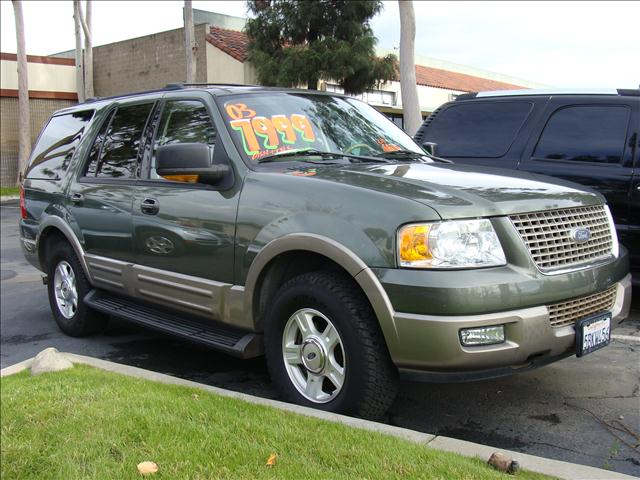 2003 FORD EXPEDITION EDDIE BAUER 54L 2WD sage green clean title report homelink garage opener e