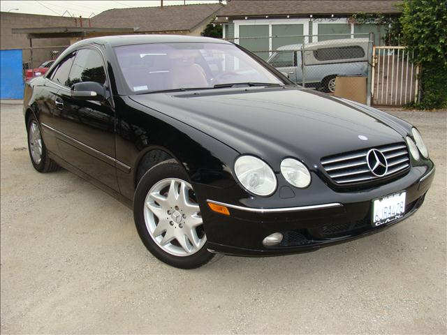 2002 MERCEDES-BENZ CLK-CLASS CL500 black clean car fax and transfer title report design edition 