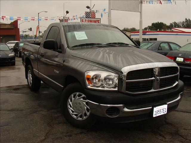 2008 DODGE RAM 1500 ST 2WD gray clean carfax and title reports advanced multi-stage airbags rear