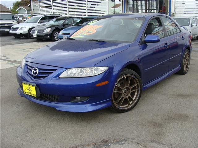 2003 MAZDA 6 I blue clean title and carfax reports 4 speaker cdmp3 audio system cfc-free aircon