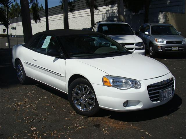 2005 CHRYSLER SEBRING LIMITED white 1-owner vehicle lockable glovebox infinity audio speed-sens