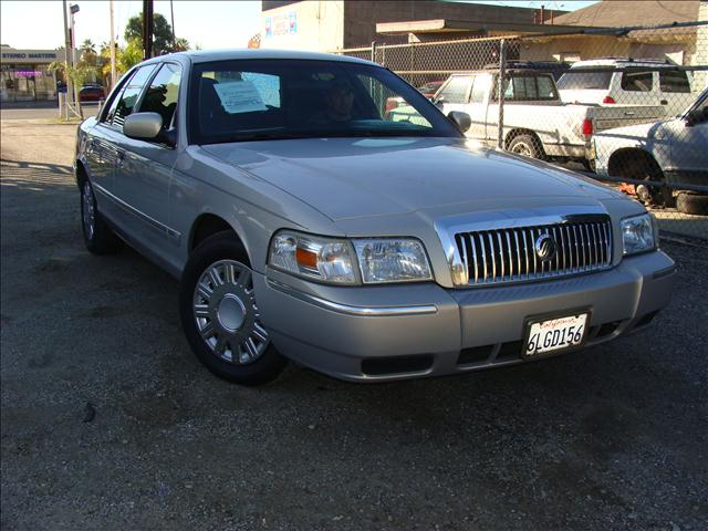 2007 MERCURY GRAND MARQUIS GS tan clean title and carfax reports personal safety airbag system s