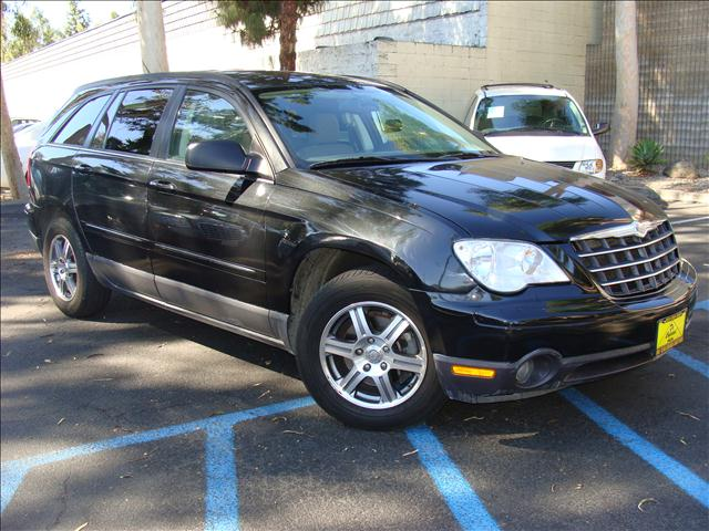 2008 CHRYSLER PACIFICA TOURING black 2-tone clean carfax and title reports infinity audio system